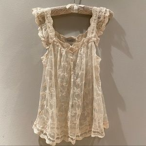 ** Lace Top **